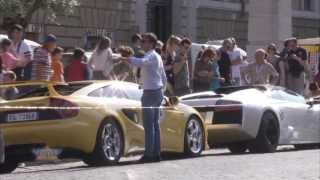 Lamborghini 50th Anniversary Tour - Forte dei Marmi