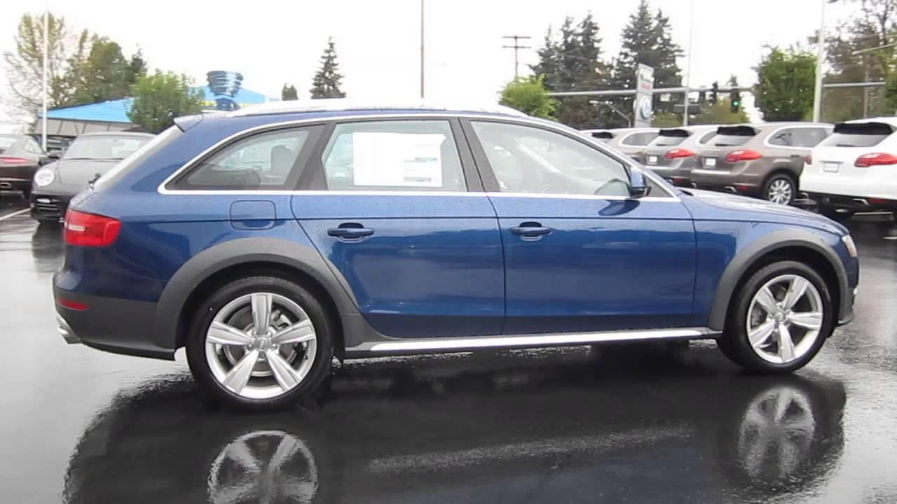 Audi q7 Scuba Blue 2014 Audi Allroad Scuba Blue