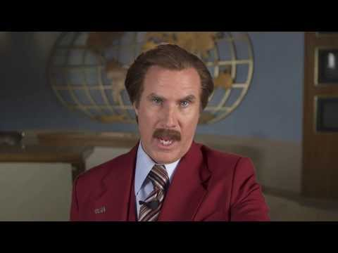 Anchorman 2 - Video Chat With Ron Burgundy Part 1