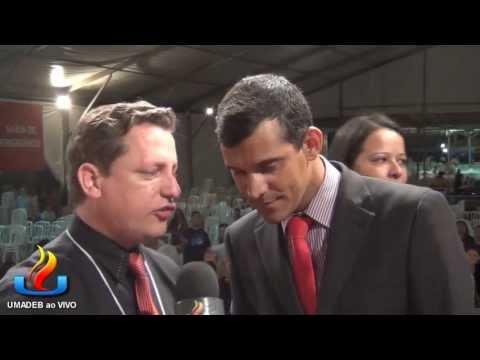 UMADEB 2013  Dia 12-02 - Entrevista Pr. Oséias
