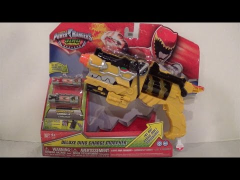 Deluxe Dino Charge Morpher Review [Power Rangers Dino Charge]