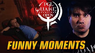 Quake Champions PGL 2018 Funny Moments