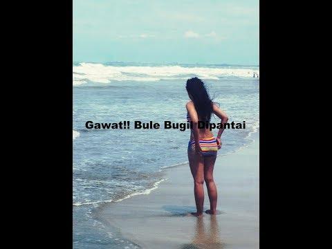 Gawat Jangan Di Liat !!! Bule Bugil Di Pantai