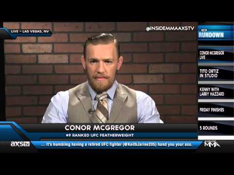 Conor McGregor Wants a Title Shot after UFC 178