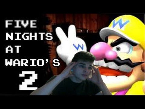 The Terror Will Start Again! Night One  Complete! | Five Nights At Wario's 2