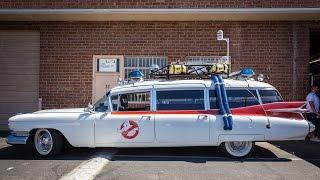 Ghostbusters Ecto-1 Replica Car!