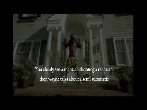 Illuminati behind batman shooting (lil wayne)