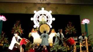 Taiko Drum Performance Rissho Kosei Kai Oahu Dharma Center