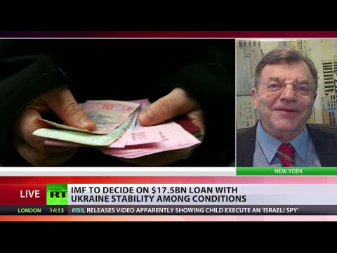 'Kleptrocrats who run Ukraine economy will grab IMF cash & run'
