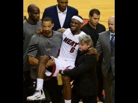 Lebron's Leg Cramps = ESPN's Menstrual Cramps