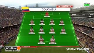 Chile 2 vs Colombia 0 - Copa America Centenario 2016 (Semi Final)