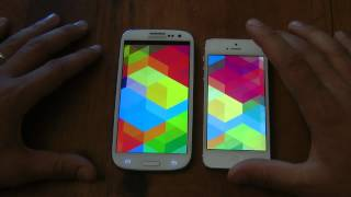 iPhone 5 vs. Galaxy S3 comparativa by HDblog
