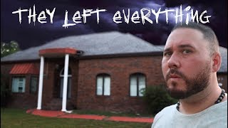 THIS HOUSE IS SO HAUNTED THEY LEFT EVERYTHING | OmarGoshTV