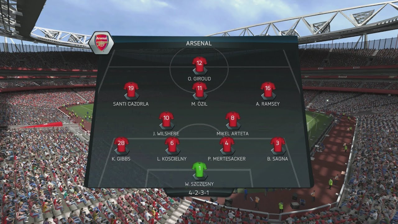 (PS4) FIFA 14 | Arsenal vs Spurs | FULL GAMEPLAY [PlayStation 4 1080p HD Next Gen] - YouTube