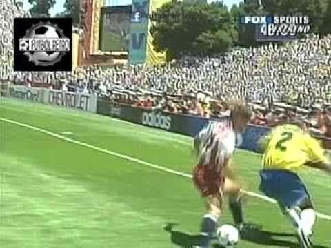 Brasil 1 vs Usa 0 Mundial Usa 1994 8° Final FUTBOL RETRO TV