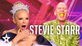 Stevie Starr swallows a pool ball in Croatia's Got Talent│Supertalent 2019│Auditions
