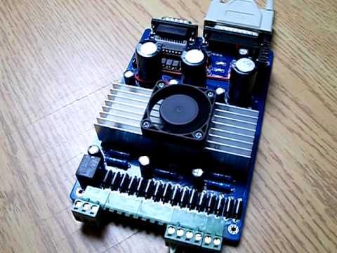 Tb6560 4 Axis Stepper Motor Controller Plasma Cnc Dry Run