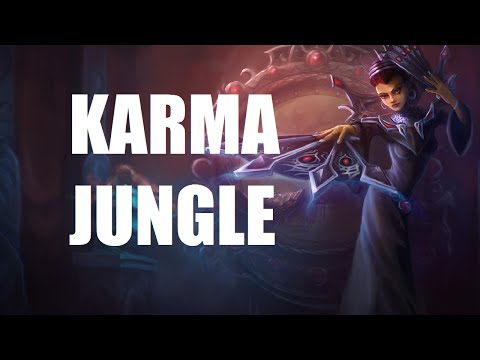 League of Legends - Karma Jungle - Full Game Commentary