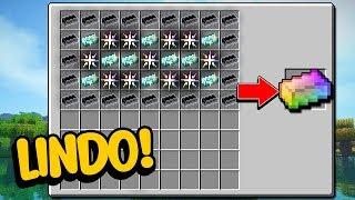 Minecraft Perfeito #19: ESSE É O MINÉRIO MAIS BONITO DO MINECRAFT!