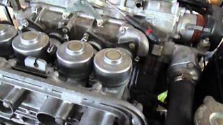 Honda S800 test carburateurs