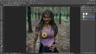 Cara Edit Foto Jadi Zombie Dengan Mudah di Photoshop CS6