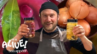 Brad Makes Pickled Onions at Home | It's Alive @ Home | Bon Appétit