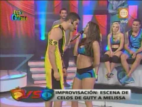 Esto es Guerra: Guty y Melissa en escena de celos - 11/06/2013