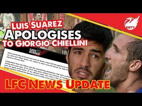 Luis Suarez Apologises to Chiellini | Uncensored LFC Fan Reaction