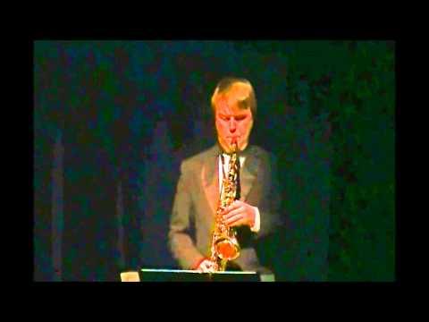 Zack Schmitt Saxophone SOLO at Prism 3-2015 Collinsville High School
