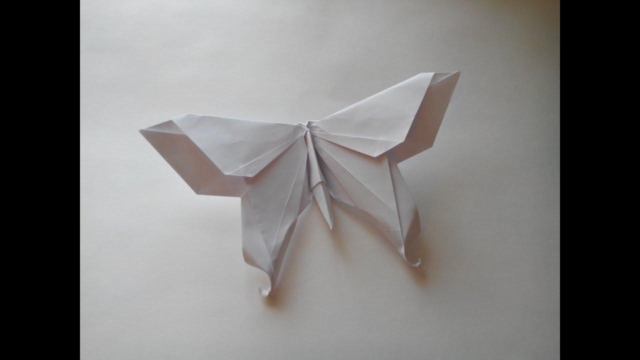 Бабочки из бумаги на стену своими руками оригами