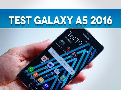 Test Samsung Galaxy A5 2016 - Test Mobile