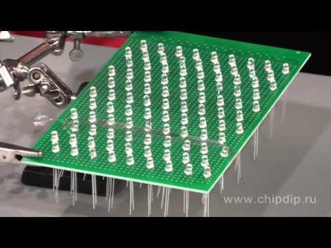 Светодиодная матрица своими руками Music Videos