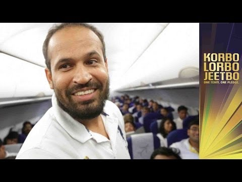 YUSUF PATHAN CAUSES MISCHIEF ON FLIGHT KKR | Inside KKR Ep 30 | The Knights return home!