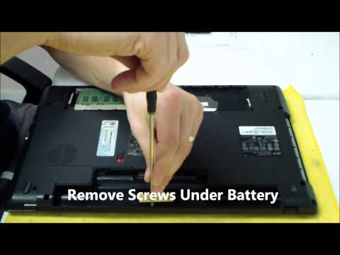 Acer Aspire 5742 AC DC Power Jack Repair