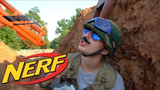 Nerf War: World War One Trench Battle