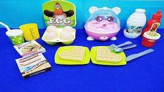 Đồ chơi bếp MÁY HẤP TRỨNG VÀ DỤNG CỤ 20 MÓN - baby kitchen toys
