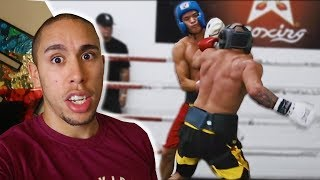 How Fousey KNOCKED OUT Alex Wassabi.. after he was LOSING the fight..