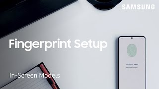 How to set up fingerprint security on Galaxy phones with in-screen readers | Samsung US