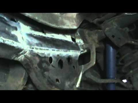 Toyota 4runner Frame Rust Repair Youtube