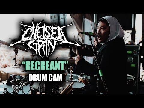 Chelsea Grin | Recreant | Drum Cam (LIVE) thumbnail