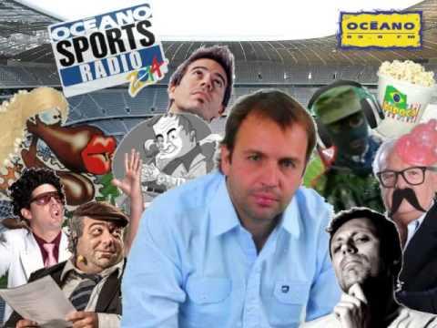 04/06/2014 Océano Sports Radio y relato primer tiempo Uruguay vs Eslovenia