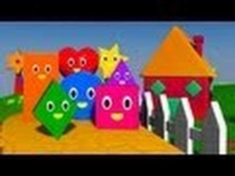 A Canção das Formas | Shapes Song