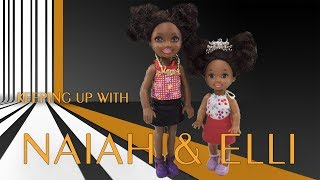 Pranks! Little Sister Plays Prank on Big Sister Barbie | Naiah and Elli Doll Show Ep 16