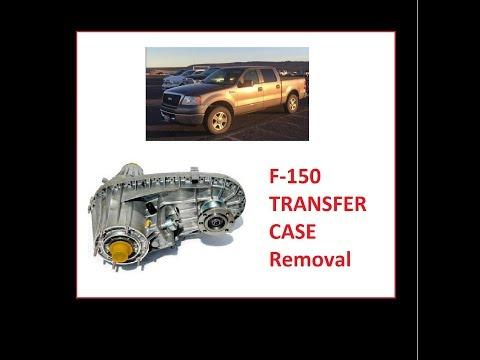 F-150 Transfer case removal Step-by-Step. Sacar Caso de transferencia
