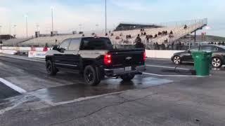 2014 Wheelchair Accessible Silverado, Borla Attack, Texas Speed Camshaft, Edelbrock Blower.