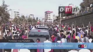 Killing of Ethiopian protest singer triggers unrest in leader's ethnic heartland