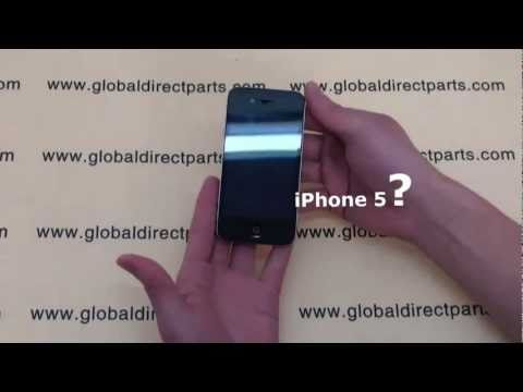 iPhone 5 o iPhone 4 CDMA in video