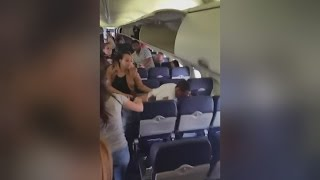 Water Buffalos Charge On SW Flight Dallas to Burbank-Around Niggers, Never Relax!