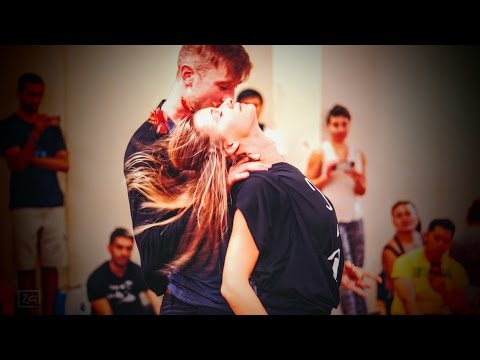 "Jakub Jakoubek & Lucia Kubasova ""Talk Without Words"" Zouk Demo -  2016 NYC Zouk Festival"
