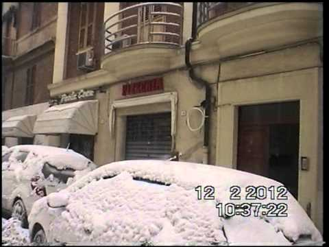 nevicata record su ancona